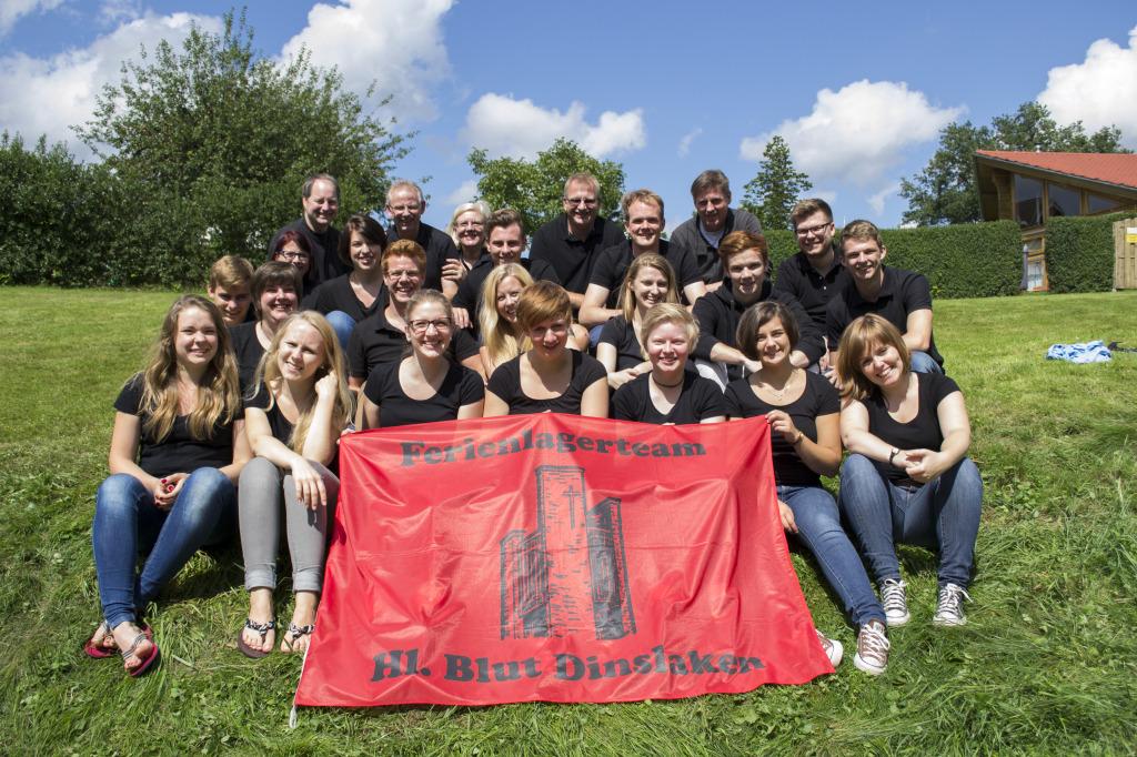 Gruppenbild Betreuerteam 2014 Sommerlager